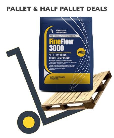 Tilemaster FineFlow 3000 pallet deals and bulk buy