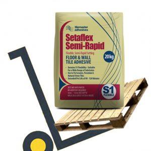Tilemaster Setaflex Semi-Rapid pallet deals