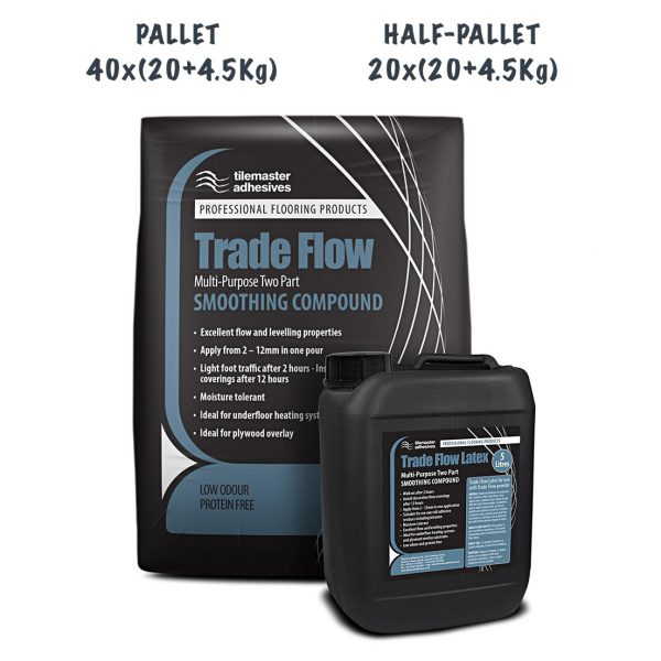 TileMaster Trade Flow Smoothing Compounds Pallet and Half Pallet Deals