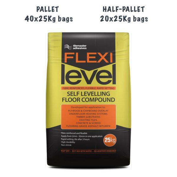 TileMaster Flexilevel Pallet and Half Pallet Deal