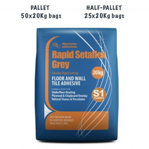 TileMaster Rapid Setaflex Pallet and Half Pallet