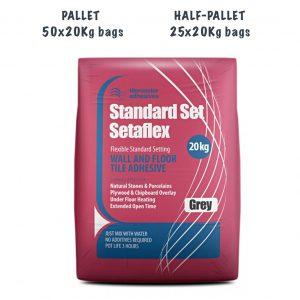 TileMaster Standard Set Setaflex Pallet and Half Pallet
