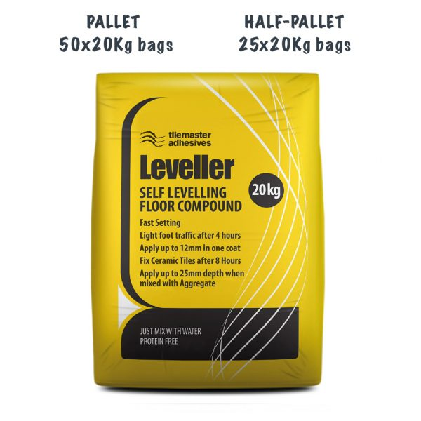 TileMaster Self Levelling Compounds Pallet and Half Pallet Deals