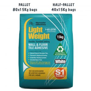 Tilemaster Light Weight Wall and Floor Tile Adhesive