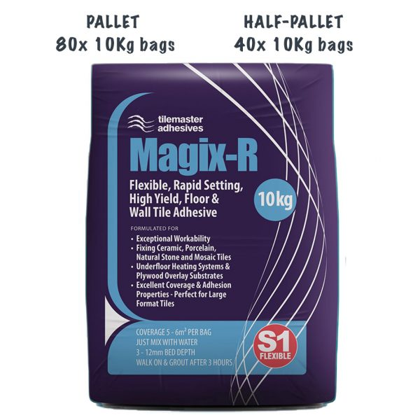 Tilemaster Magix-R Pallet and Half-Pallet deals