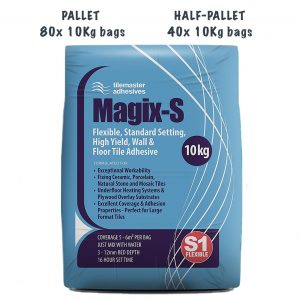 Tilemaster Magix-S Pallet and Half-Pallet deals