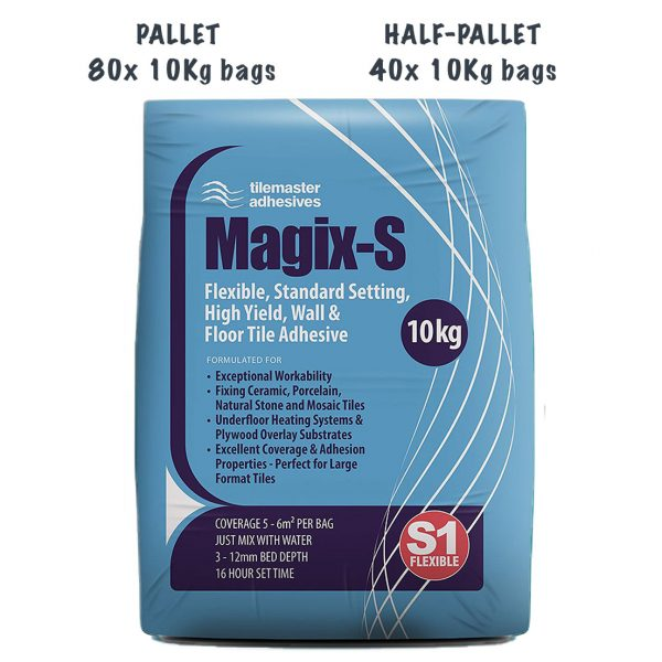 Tilemaster Magix-S Pallet and Half-Pallet deals