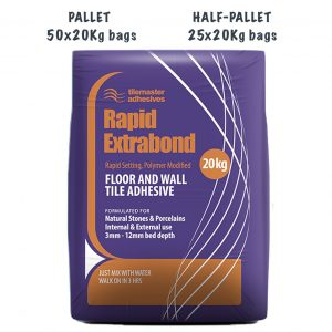 Tilemaster Rapid Extrabond Pallet and Half-Pallet deals