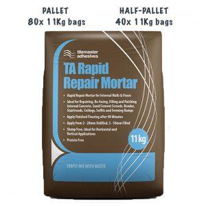 Tilemaster Rapid Repair Mortar Pallet and Half Pallet Deals