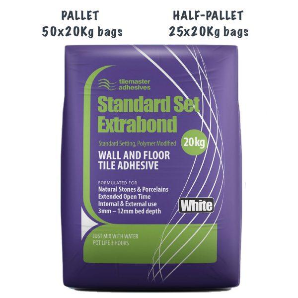 Tilemaster Standard Set Extrabond Pallet and Half-Pallet deals