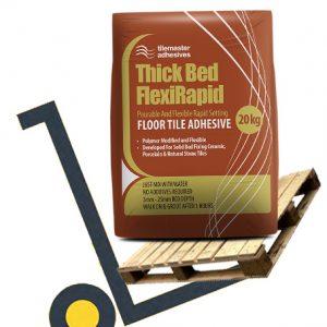 Tilemaster Thick Bed Flexirapid pallet deals and bulk buy