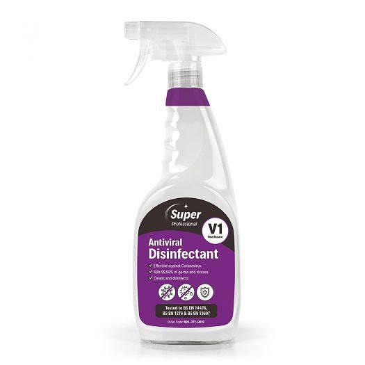 Super Antiviral Disinfectant Spray 750mL