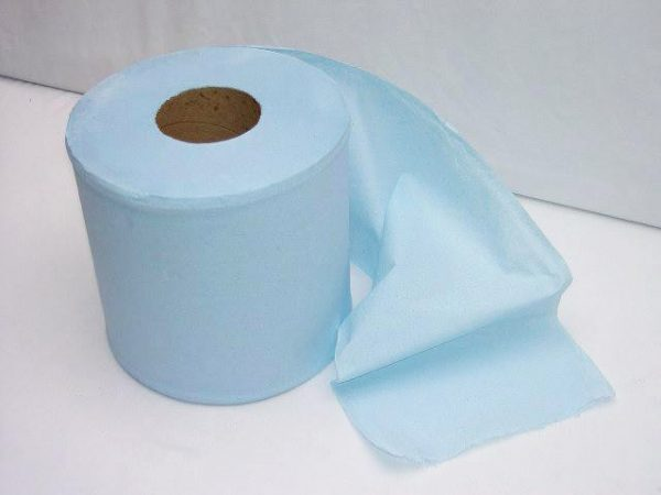 2 ply Blue Centre Feed Paper Rolls BULKY BUY
