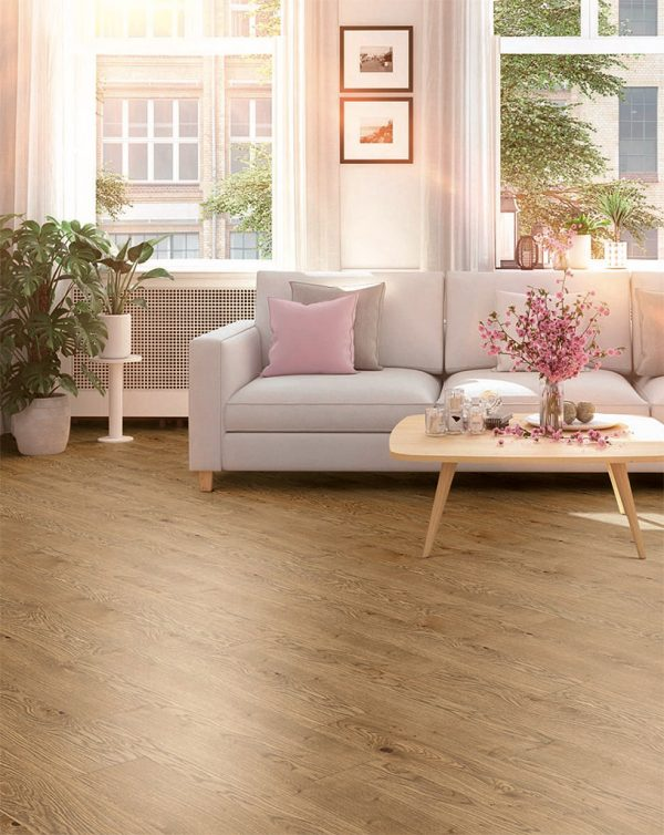 Country Oak Vinyl Click Flooring