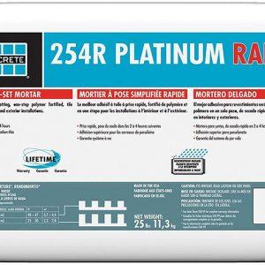 Laticrete 254R Platinum Rapid tile adhesive pallet deals bulk buy