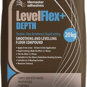Tilemaster LevelFlex+ Depth Smoothing Floor Levelling Compound
