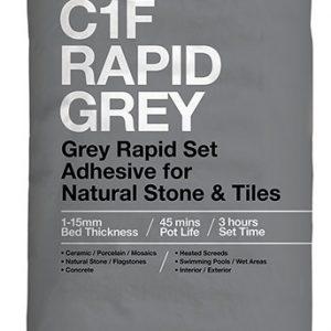 ROCATEX C1F RAPID GREY tile adhesive pallet deals and bulk buy