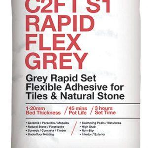 ROCATEX C2FT S1 Rapid Flex Grey tile adhesive pallet deals and bulk buy