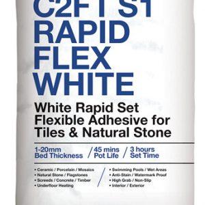 ROCATEX C2FT S1 Rapid Flex White tile adhesive pallet deals and bulk buy