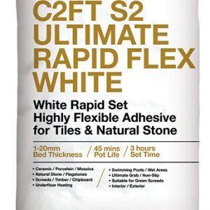 ROCATEX C2FT S2 Ultimate Rapid Flex tile adhesive pallet deals and bulk buy