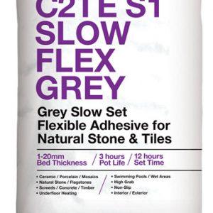 ROCATEX C2TE S1 Slow Flex Grey tile adhesive pallet deals and bulk buy