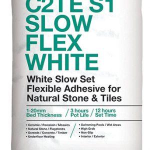 ROCATEX C2TE S1 Slow Flex White tile adhesive pallet deals and bulk buy