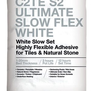 ROCATEX C2TE S2 Ultimate Slow Flex White tile adhesive pallet deals and bulk buy