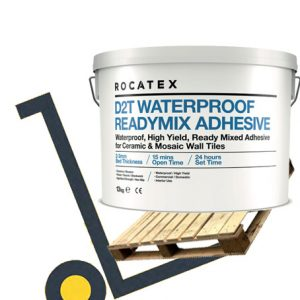 Rocatex D2T Waterproof Readymix Tile Adhesive pallet deals and bulk buy