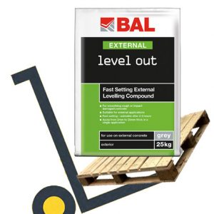 BAL Level Out External Fast Setting Levelling Compound