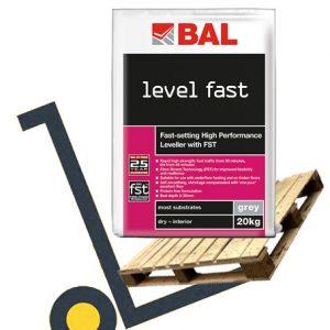 BAL Level Fast pallet deals - rapid-setting floor levelling compound