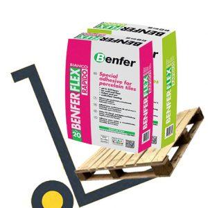 Benfer Benferflex Rapido C2 FTE S1 - ideal for porcelain tiles - pallet deals