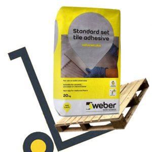 Webeset Standard Set Tile Adhesive pallet deals